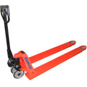 "Wesco® Extra Long Fork Pallet Truck with 78""L Forks 273519 4400 Lb. Cap."