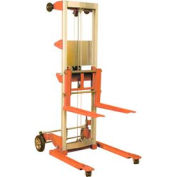 "Wesco® Hand Winch Lift Truck 273514 500 Lb. 71"" Lift Straddle Legs"