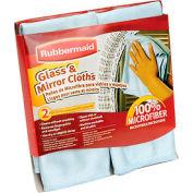 Rubbermaid® Glass & Mirror Cloth 2-Pack - FG6M0206
