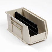 Akro-Mils Divider 40224 For AkroBin® Stacking Bin #188013, Pkg of 6