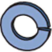 """Unistrut Channel Lock Washer Hlkw050eg,1/2"""" - Pkg Qty 500"""