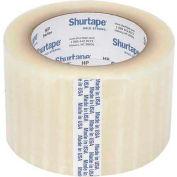 "Shurtape® HP 400 Carton Sealing Tape 3"" x 55 Yds. 2.5 Mil Clear - Pkg Qty 24"