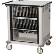 Datum QwikLink Cart 32 Tablet & eReader USB Charging Cart, Series CSC-ICC32XL