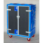 Myton RTC-5829H6 46 Cu. Ft. Blue Plastic Security Transfer Truck 950 Lb. Cap.