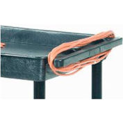 Electric Outlet Assembly LPCSA for Luxor® Utility Carts 3 Outlet 15 Cord