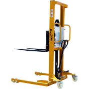 "Big Joe® MSA22-96 Hand & Foot Pump Operated Lift Truck 2200 Lb. 96"" Lift"