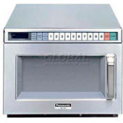 Panasonic® NE-17523, Commercial Microwave, 0.6 Cu. Ft. 1700 Watt, TouchPad