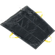 Pallet Rack Trash Bag - Black, Pack of 1