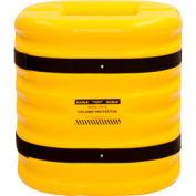 "Eagle Column Protector, 8"" Column Opening, 24"" High, Yellow, 1724-8"