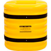 "Eagle Column Protector, 12"" Column Opening, 24"" High, Yellow, 1724-12"