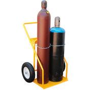 Vestil Economical Welding Cylinder Cart CYHT-2 2 Cylinder Capacity