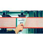 "Economy Rack Placard Label Holder, 3"" X 100 ft. Roll - Clear"