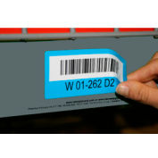 "Economy Rack Placard Label Holder, 4"" X 100 Ft. Roll - Gray - Pkg Qty 5"