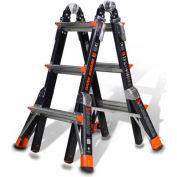 Little Giant® 5'-15' Dark Horse Multi-Use Ladder - 15143-001