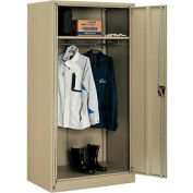 Paramount™ Wardrobe Cabinet Easy Assembly 36x24x72 Tan
