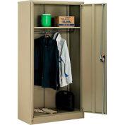 Paramount™ Wardrobe Cabinet Assembled 36x18x72 Tan