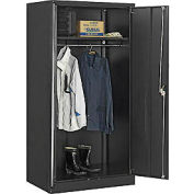 Global™ Wardrobe Cabinet Assembly 36x24x72 Black