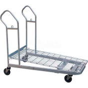 Vestil Nestable Wire Platform Shopping Cart WIRE-M