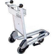 Vestil Nestable Multi-Use Platform Shopping Cart LUG-B with Brakes