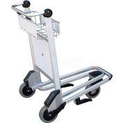 Vestil Nestable Multi-Use Platform Shopping Cart LUG-B with Brakes