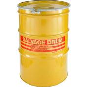 Skolnik HM8518 85 Gallon Open Head Carbon Steel Salvage Transport Overpack Drum