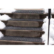 "Hotflake™ Outdoor Heated Anti-Slip Stair Tread Mat-11""X38"" 120v"