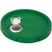 Vestil Tear-Tab Lid & Plastic Spout LID-54-PGST 3½, 5 & 6 Gal Open Head Pails