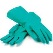 PIP Unlined Unsupported Nitrile Gloves, 15 Mil, Green, XL, 1 Pair - Pkg Qty 12