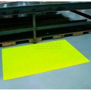 """Sof-Spun Anti-Fatigue Mat 3/8"""" Thick 36""""W Cut Length To 60' Hi-Viz Yellow"""