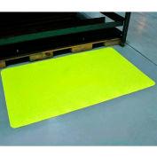 "Diamond-Dek Sponge Anti-Fatigue Mat 36""x60"" High Visibility Yellow"