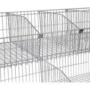 Nexel ® Wire Shelf Basket Divider, 24""