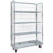 Nashville Wire RC148 Cargo Cart Open Front 48 x 18 x 70