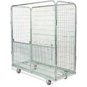 Nashville Wire RC2GF Cargo Cart Drop-Gate Front 63 x 28-1/2 x 72
