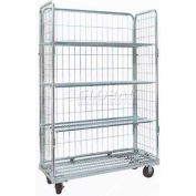 Optional Adjustable Height, Fixed Angle Shelf for RC148 Nashville Wire Cart