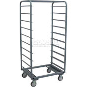 Jamco Steel Tray Truck UT433 36 x 33 x 69 with 10 Tray Capacity