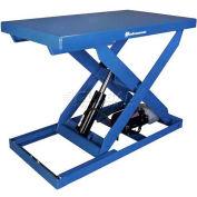 Bishamon® OPTIMUS Lift2K Power Scissor Lift Table 48 x 36 2000 Lb. Cap. Foot Control L2K-3648