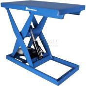 Bishamon® Lift3K Power Scissor Lift Table 48 x 28 3000 Lb. Cap. Foot Control L3K-2848