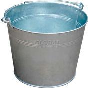 Vestil Galvanized Steel Bucket BKT-GAL-325 3-1/4 Gallon Capacity