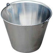 Vestil Stainless Steel Bucket BKT-SS-325 3-1/4 Gallon Capacity