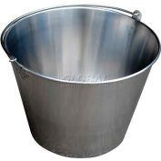 Vestil Stainless Steel Bucket BKT-SS-500 5 Gallon Capacity