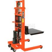 "PrestoLifts™ AC Powered Lift Stacker EPFT7110 110"" Lift 1000 Lb. Cap."