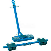 Steerable Machinery Moving Skate Roller Kits 12 Ton Capacity