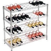 """Wine Bottle Rack - 36 Bottle 36"""" x 14"""" x 34"""""""