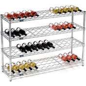 "Wine Bottle Rack - 52 Bottle 48"" x 14"" x 34"""