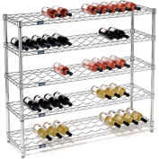 "Wine Bottle Rack - 65 Bottle 48"" x 14"" x 42"""
