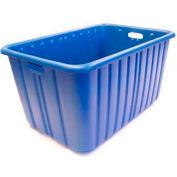 "Tote-Alls Tote Container 24-1/8""L X 14-3/8""W X 12""H, Blue - Pkg Qty 10"