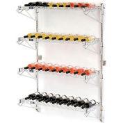 """Wine Bottle Rack - Wall Mount 36 Bottle 36"""" x 14"""" x 54"""""""