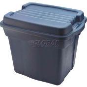 Rubbermaid 2450 Roughneck Tote High Top 24 Gallon Dark Blue - Pkg Qty 6