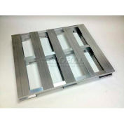 Aluminum Pallet 36 X 36 X 5, 50,000 Lb. Floor Capacity - Pkg Qty 8