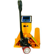 Wesco® Pallet Jack Scale Truck 272936 27-1/2 x 47-1/2 5000 Lb. Capacity